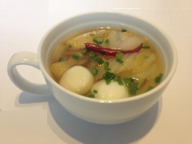 フィッシュボールのスープ