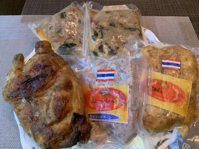 タイの肉肉スペシャルセット
