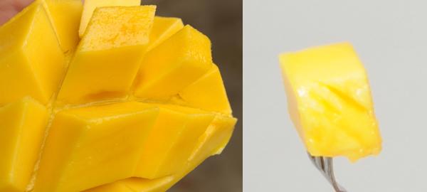 ≪果物の女王≫と言われるマンゴスチン。分厚い外皮に守られた乳白色の果実は、上品な甘みと、かすかな酸味のバランスが絶妙で、女王の美しさを彷彿させます。